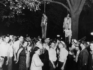 Lawrence Beitler took what would become the most iconic photograph of lynching in America, the lynching of Thomas Shipp and Abram Smith.
